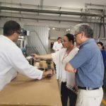 Visita el CIQA a directora de Desarrollo Tecnológico e Innovación del CONACYT