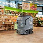 Robotizando labores de limpieza industrial y comercial