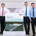 ABB comienza la construcción de una nueva fábrica de robótica en Shanghái