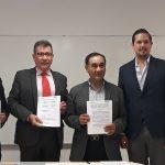 Firma de convenio CIQA-Clúster de plástico de Querétaro