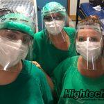 Produce Eastman material para protectores faciales en respuesta al COVID-19